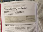 Turangallila_programme_2